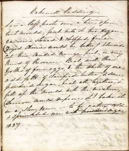 D7555/1 Clara Palmer-Morewood recipe book, Alfreton Hall