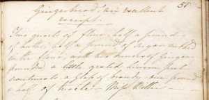 D7555/1 Clara Palmer-Morewood recipe book