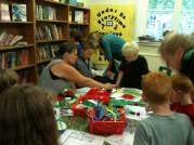 2013 08 05 Glossop - finding library books around our mess