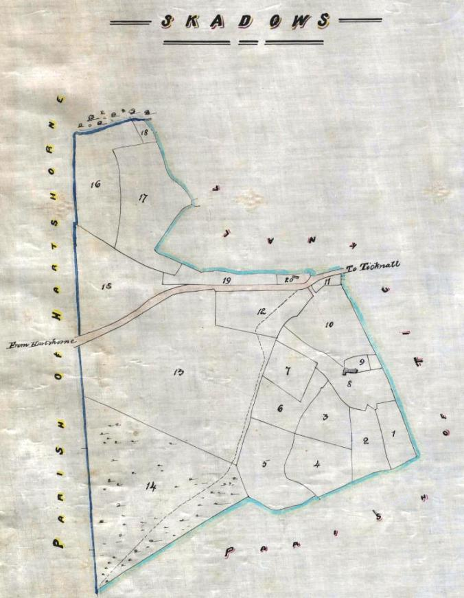 Scaddows plan, 1829