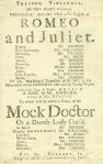 D258/7/5/30 Tideswell playbill, 1807