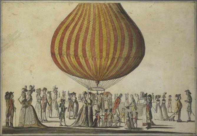 D5459/1/28/11 [A Balloon], George M. Woodward, [1783-1786]