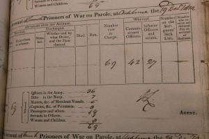 D302 Z/W 1 Weekly accounts, December 1812