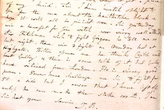 D258/50/34, 4 January 1810