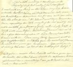 D3580/C/128 Letter from Elizabeth Longsdon to her son John Longsdon, 21 October 1810