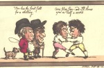 D5459/2/23/12 Image from Grotesque Borders for Rooms & Halls: No 18, George M. Woodward & Thomas Rowlandson, 1800