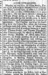 Derby Mercury, 19 March 1795