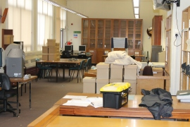 Packing up the old archive Searchroom