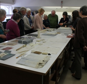 Visiting the Conservation Studio