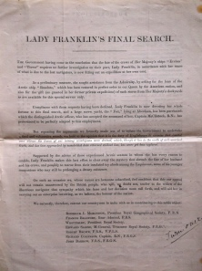 Lady Franklin's Final Search p1
