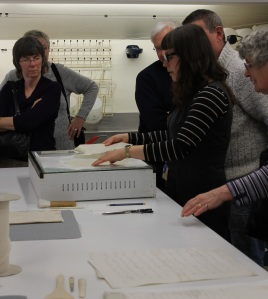 Clare showing how we repair documents