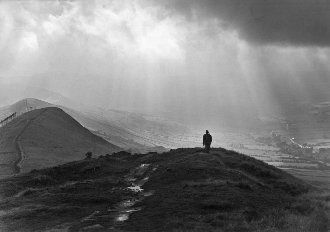 Back Tor, Edale, c1980, courtesy of Albert Hugh Robinson and www.picturethepast.org.uk