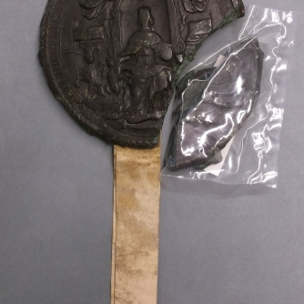 Great Seal of King Charles II for the Pardon of Sir John Gell