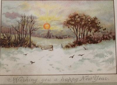 New Year scene