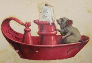 Xmas mouse