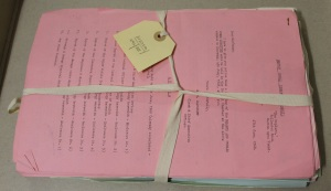 Bundle of 20th century documents
