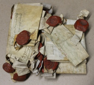 Early medieval deeds