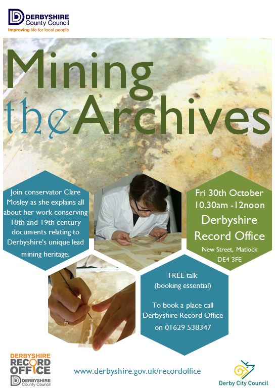 Mining the Archives Poster