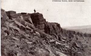 Stanage Rocks near Hathersage