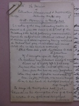 D1023-34 Manuscript copy of an article on 'Well Flowering in Derbyshire' published in 'The Mirror of Literature, Amusement and Instruction', 1837