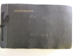 D1035-Zp-1 Cover of photograph album, images taken by FW Walker, 1929-1947