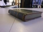 D2375-M-76-187 Frances Harpur's commonplace book, 1784 - cover