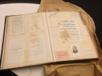 D2375-M-81-1 Scrapbook containing tickets, programmes, invitations, etc. relating to a variety of subjects, politics, public occasions, sports, concerts, etc. 1885-1892 extract a