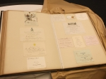 D2375-M-81-1 Scrapbook containing tickets, programmes, invitations, etc. relating to a variety of subjects, politics, public occasions, sports, concerts, etc. 1885-1892 extract b