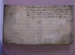 D504-97-2-6 Extract from deed relating to property and tithes in Aldwark, 1712