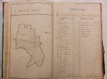 D5762-3-1 Terrier of lands in Egginton, the estate of Sir John Every, with sketch maps, 1764