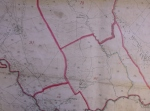 D595-LV-21.16 Extract of the Land Values map on the Derbyshire-Staffordshire border, just north of Hollinsclough, co. Staffs