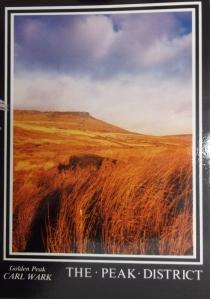 Postcard of Carl Wark, Peak District