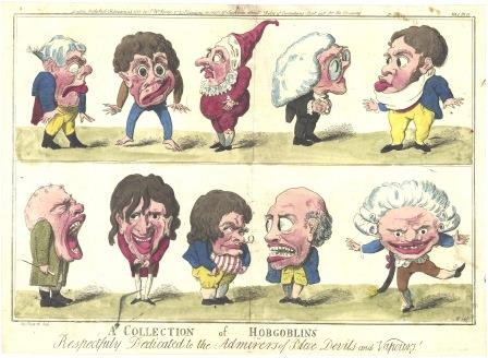 22. D5459-2-6 A Collection of Hobgoblins by George M Woodward 1796