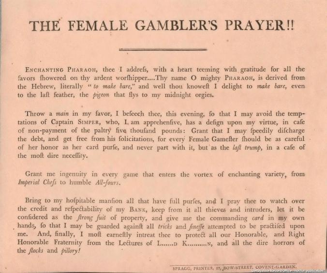 Gambler text
