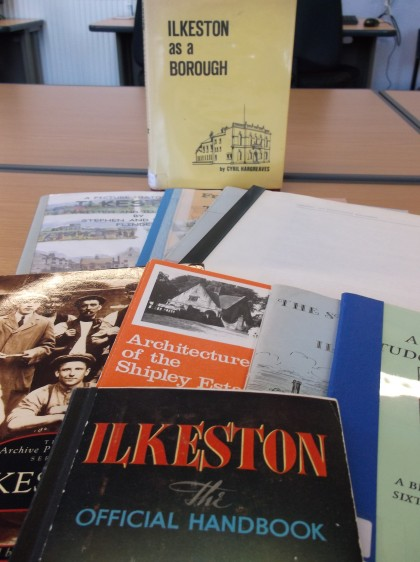 Local Studies publications about Ilkeston