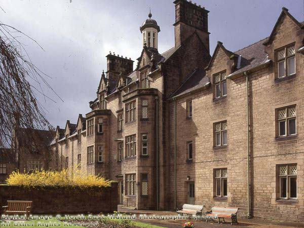 Photograph of Babington Hospital, formerly Belper Workhouse (1999) See more at www.picturethepast.org.uk