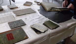 """Miscellaneous"" selection, including servants records, apothecary's notebooks, Erasmus Darwin's medicinal recipe book and an account of the poor in Ticknall"