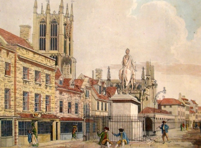 Kingston upon Hull in 1790 by Thomas Malton courtesy of www.albion-prints.com