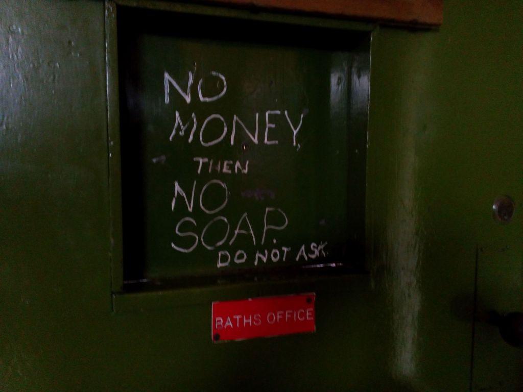 No Money No Soap