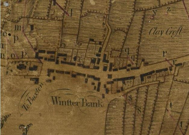 Winster village - 60kb