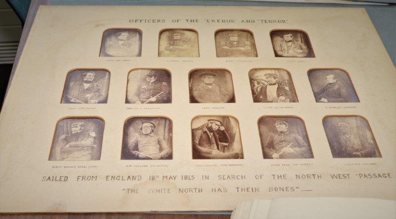 Franklin docs - daguerrotypes