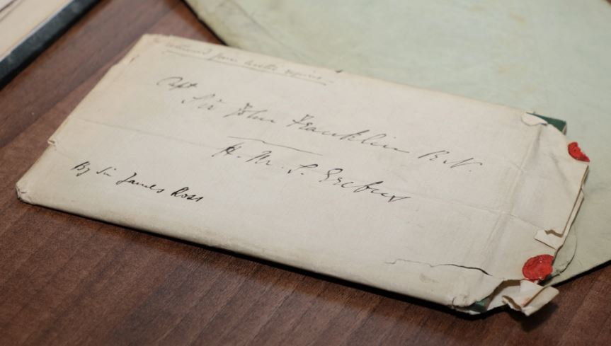 Package sent to Franklin from Eleanor