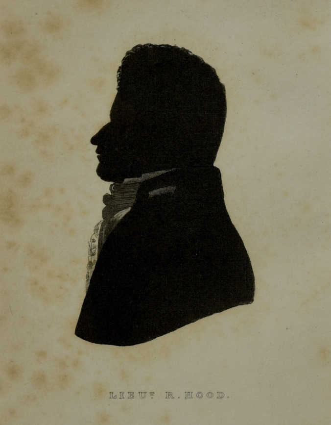 Silhouette of Robert Hood